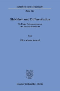 Cover Gleichheit und Differentiation