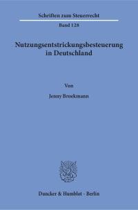 Cover Nutzungsentstrickungsbesteuerung in Deutschland