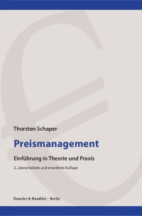 Cover Preismanagement