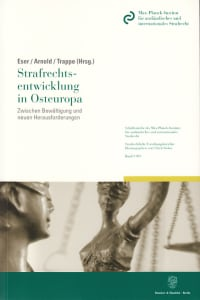 Cover Strafrechtsentwicklung in Osteuropa
