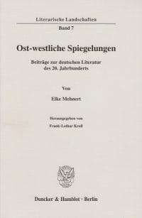 Cover Ost-westliche Spiegelungen