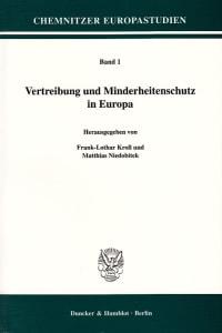 Cover Vertreibung und Minderheitenschutz in Europa