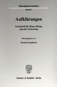 Cover Aufklärungen