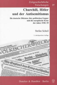 Cover Churchill, Hitler und der Antisemitismus