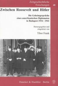 Cover Zwischen Roosevelt und Hitler