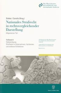 Cover Nationales Strafrecht in rechtsvergleichender Darstellung