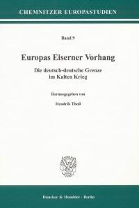 Cover Europas Eiserner Vorhang