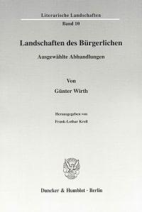 Cover Landschaften des Bürgerlichen
