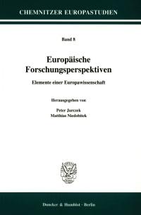 Cover Europäische Forschungsperspektiven