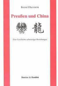 Cover Preußen und China