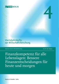 Cover Finanzkompetenz für alle Lebenslagen: Bessere Finanzentscheidungen für heute und morgen