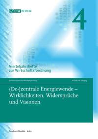 Cover (De-)zentrale Energiewende – Wirklichkeiten, Widersprüche und Visionen