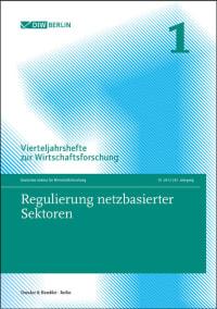 Cover Regulierung netzbasierter Sektoren