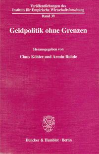 Cover Geldpolitik ohne Grenzen