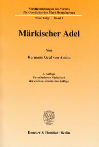 Cover Märkischer Adel