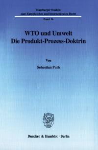 Cover WTO und Umwelt
