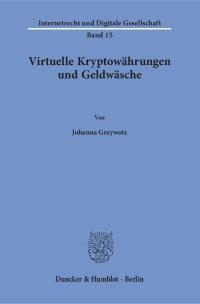 Cover Virtuelle Kryptowährungen und Geldwäsche