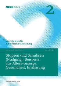 Cover Stupsen und Schubsen (Nudging)