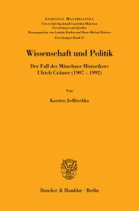 Cover Wissenschaft und Politik