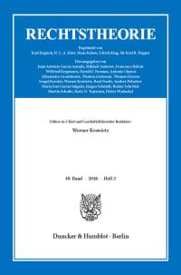 Cover Rechtstheorie (RT)