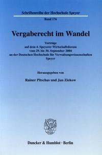 Cover Vergaberecht im Wandel