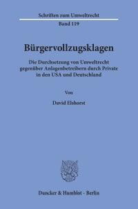Cover Bürgervollzugsklagen
