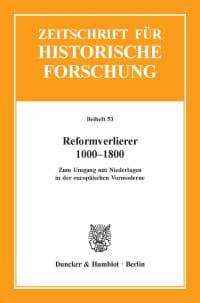 Cover Reformverlierer 1000–1800