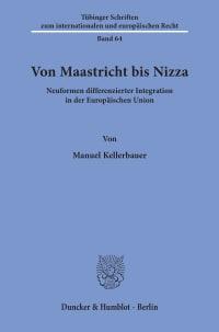 Cover Von Maastricht bis Nizza