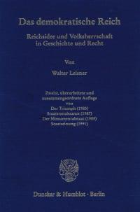 Cover Das demokratische Reich