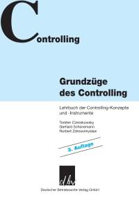 Cover Grundzüge des Controlling