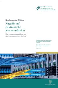 Cover Zugriffe auf elektronische Kommunikation