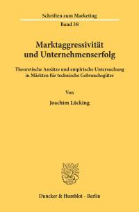Cover Marktaggressivität und Unternehmenserfolg