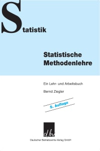 Cover Statistische Methodenlehre