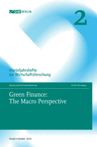 Cover Green Finance: The Macro Perspective