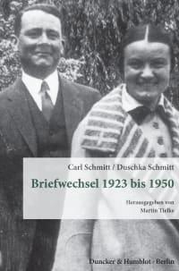 Cover Briefwechsel 1923 bis 1950