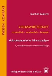 Cover Volkswirtschaft – Makroökonomische Niveauanalyse