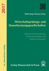Cover Wirtschaftsprüfungs- und Steuerberatungsgesellschaften 2017