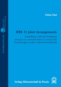 Cover IFRS 11 Joint Arrangements