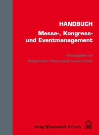 Cover Handbuch Messe-, Kongress- und Eventmanagement