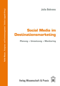 Cover Social Media im Destinationsmarketing