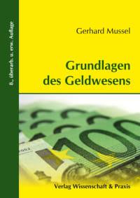 Cover Grundlagen des Geldwesens