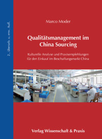 Cover Qualitätsmanagement im China Sourcing