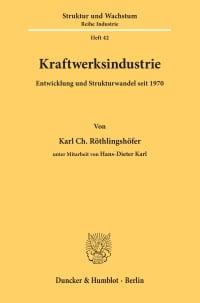 Cover Kraftwerksindustrie