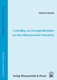 Cover Controlling von Zweckgesellschaften vor dem Hintergrund der Finanzkrise