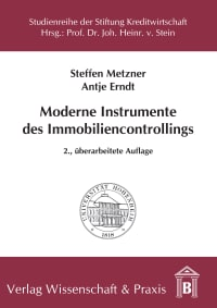 Cover Moderne Instrumente des Immobiliencontrollings