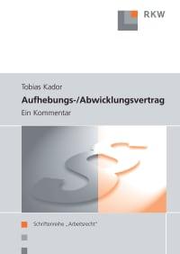 Cover Aufhebungs- und Abwicklungsvertrag