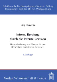 Cover Interne Beratung durch die Interne Revision
