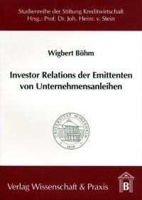 Cover Investor Relations der Emittenten von Unternehmensanleihen