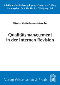 Cover Qualitätsmanagement in der Internen Revision