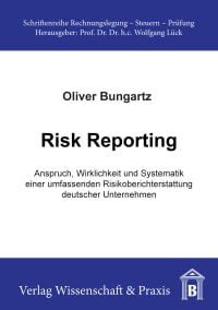Cover Risk Reporting